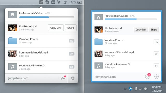Jumpshare Makes File Sharing As Easy As Dragging And Dropping
