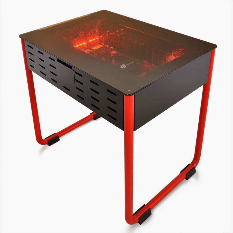 Gaming PC Prototype Is Also Its Own Table. Genius.