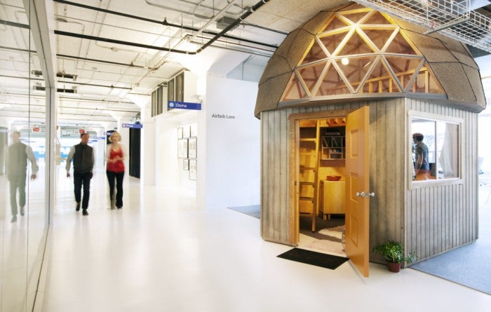 Twitter's Not the Only Company With Indoor Cabins