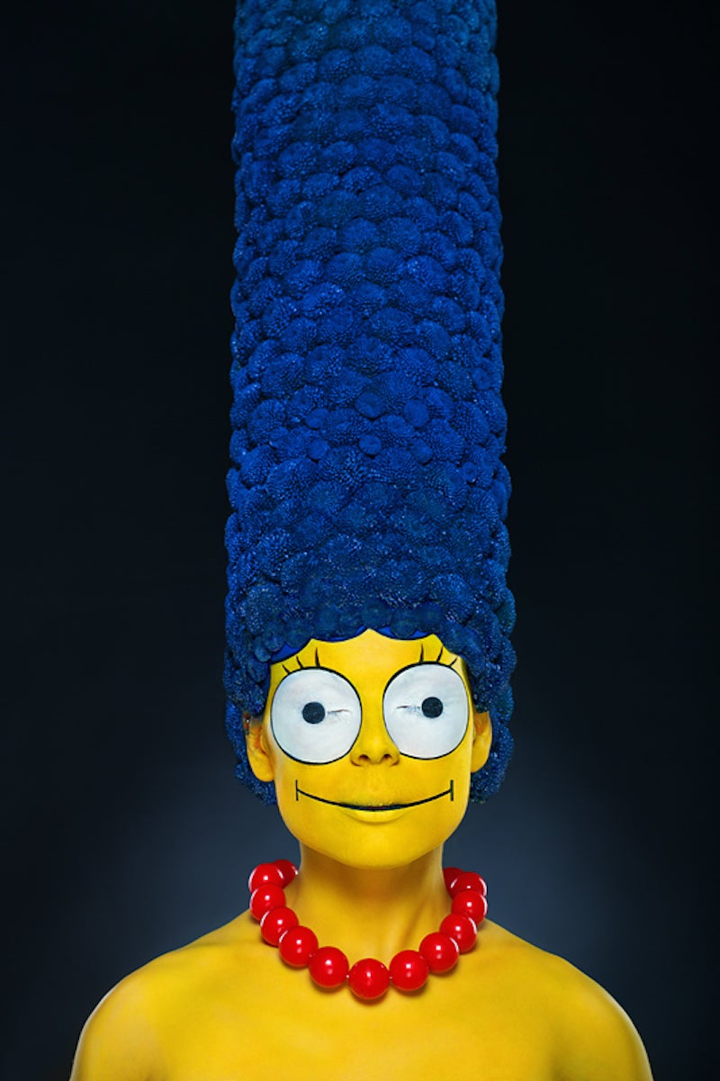 This real-life photo of Marge Simpson will haunt your dreams