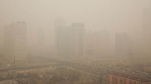 Compare How Awful China's Pollution Is To Where You Live