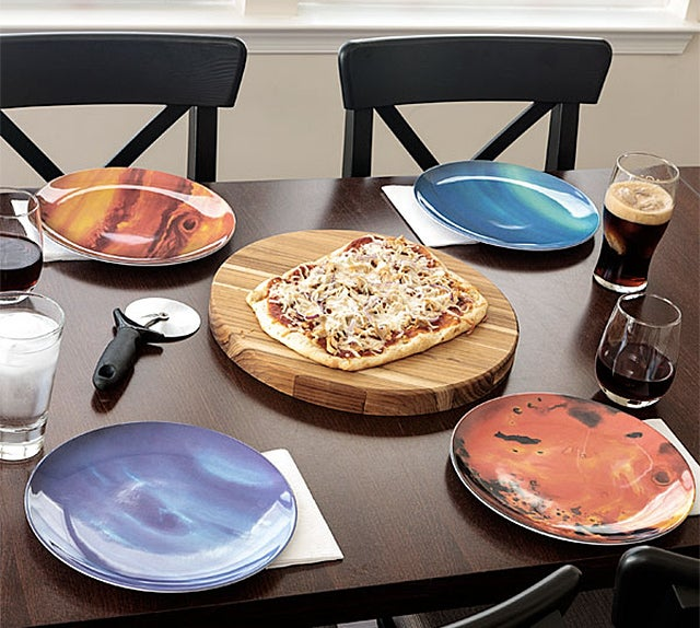 Why Use the Fine China When You Have These Awesome Planetary Plates?