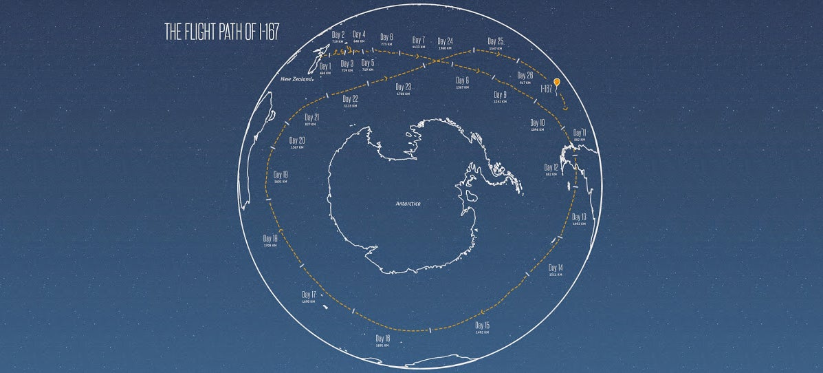 Google Project Loon Balloon Completes Journey Around Earth