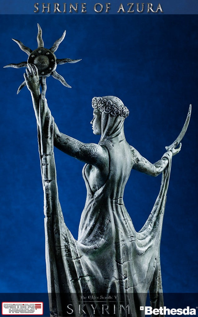 You Have Been Chosen... To Admire This $US210 Skyrim Statue