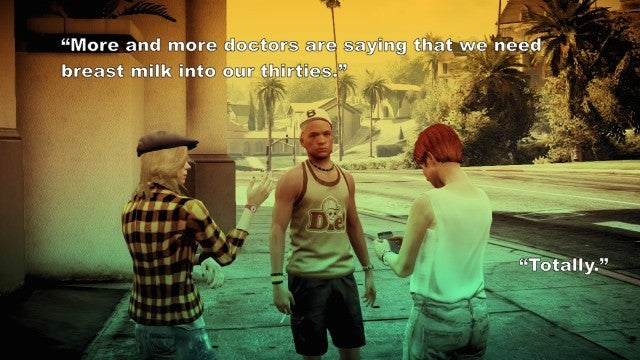 'You Smell Like S***' And Other Thoughts From The People Of GTA V