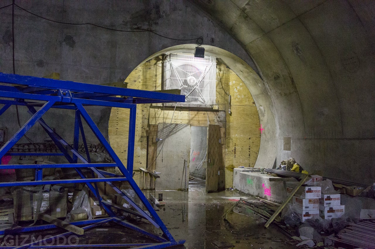 A Subterranean Stroll Through NYC's Newest Train Tunnel