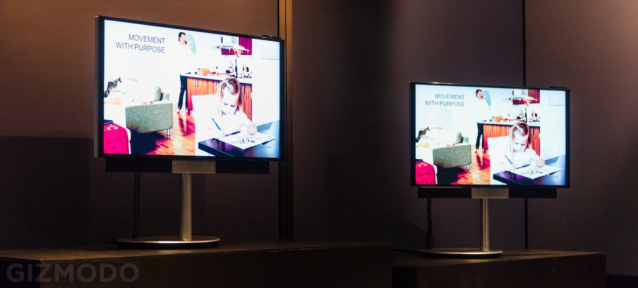 Bang & Olufsen's BeoVision Avant 4K TV Is Gloriously Discreet