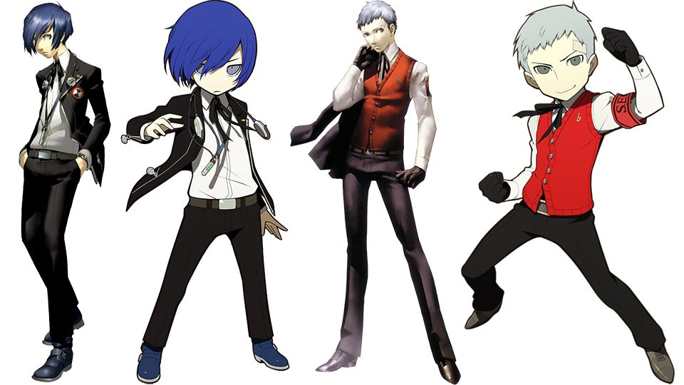 Persona 3 characters name