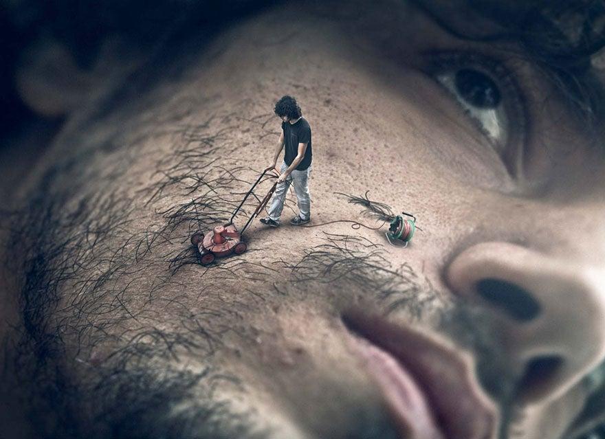 Perfect photoshops warp the world into mind-twisting reality