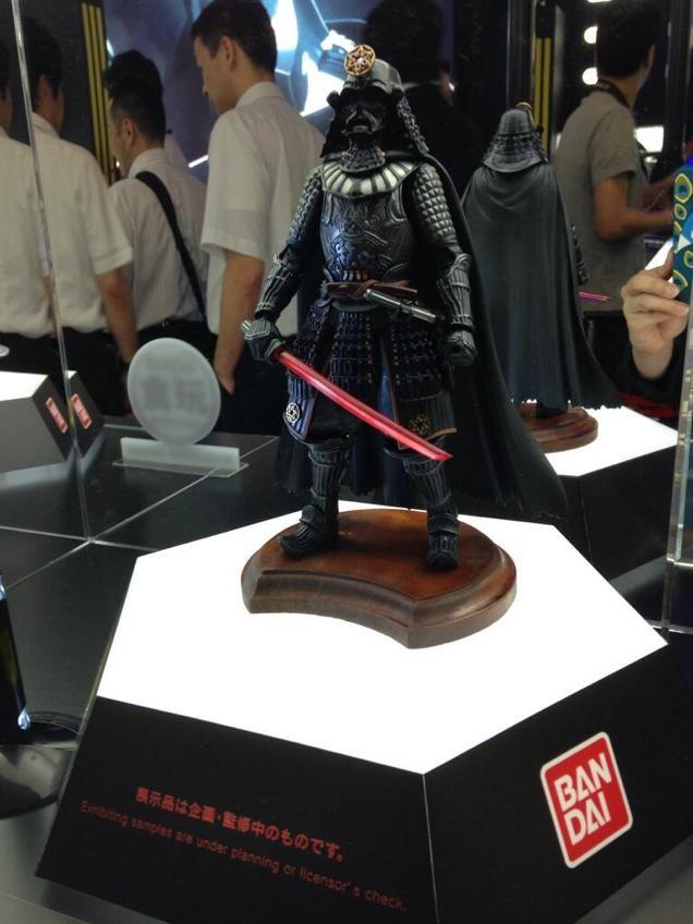 The Darth Vader Samurai Figure We All Deserve
