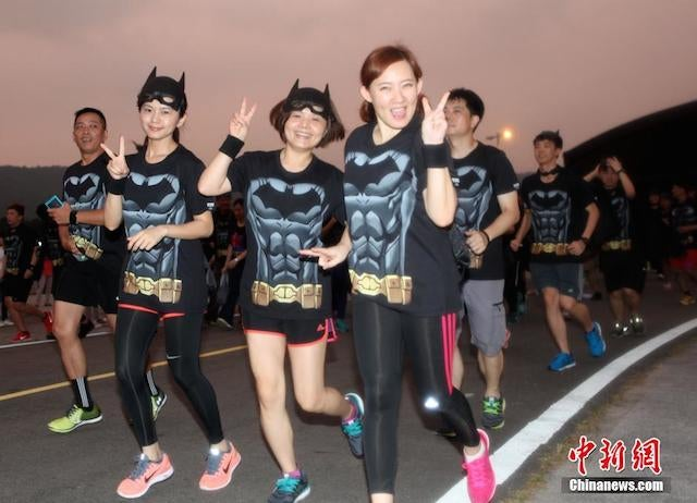 Taiwan Really Likes Batman And Running