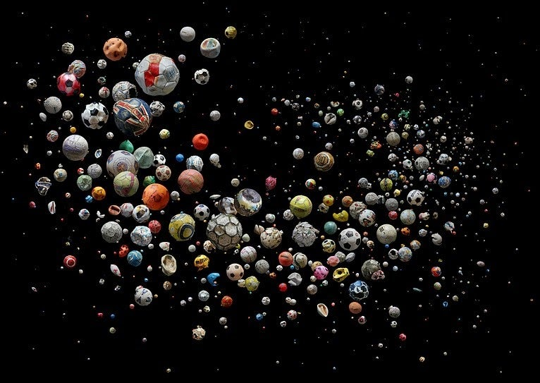 This Galactic Mass of Soccer Balls Were Found in Oceans Around the World