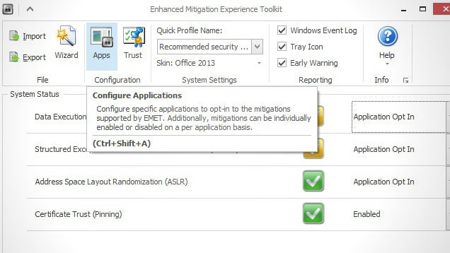 Secure Windows Apps With the Enhanced Mitigation Experience Toolkit