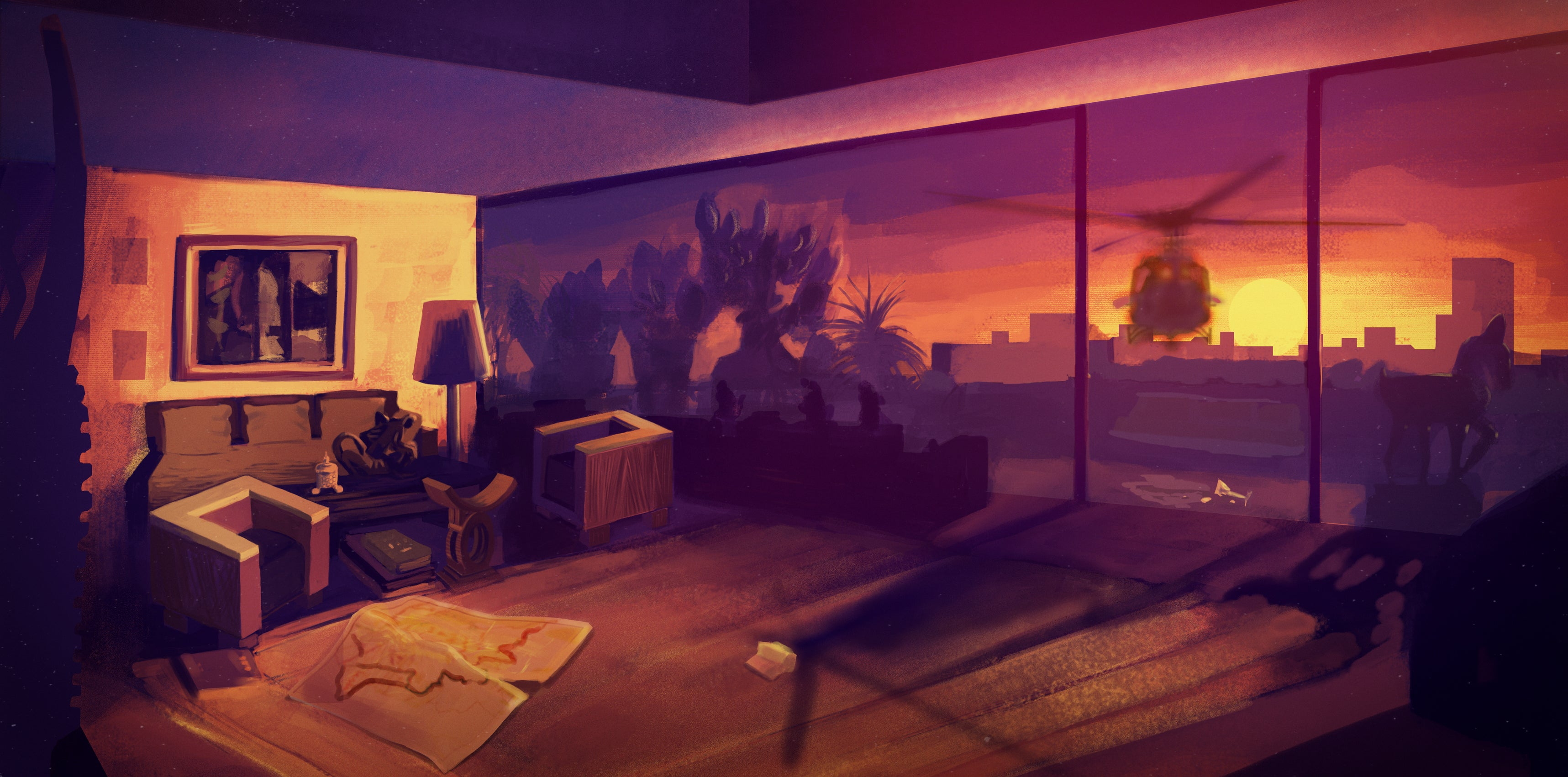 A Game About War With No Guns (Because You're The Housekeeper)