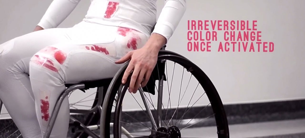 Colour-Changing Suit Shows Injuries That Paralysed Athletes Can't Feel