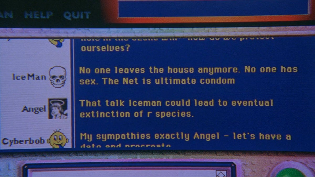 Every Webpage From the 1995 Movie The Net