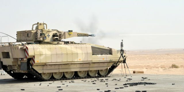 Germany's Puma Personnel Carrier Is Agile Like an Armoured Jungle Cat