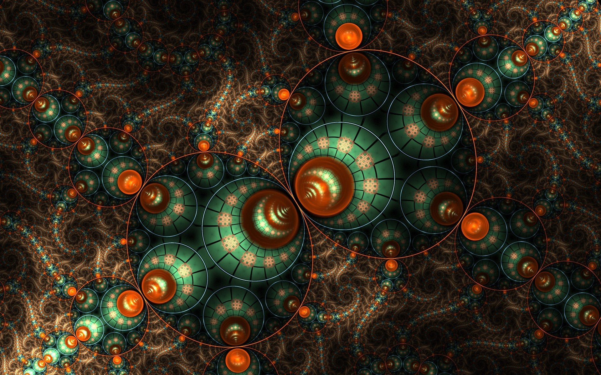 Straddle the Line Between Maths and Art with These Fractal Wallpapers