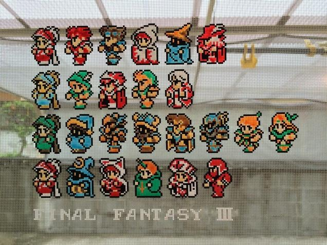 Final Fantasy III Art Keeps Insects Away