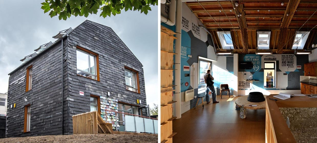 You'd Never Guess This House Was Made Entirely From Trash