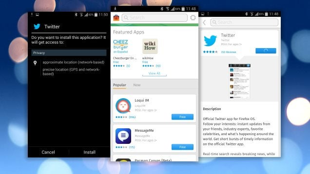 How to Try Firefox OS Apps on Android