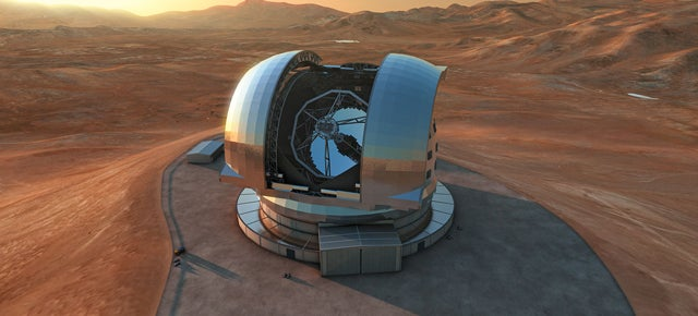 Watch a Mountain Explode to Make Way For the World's Largest Telescope