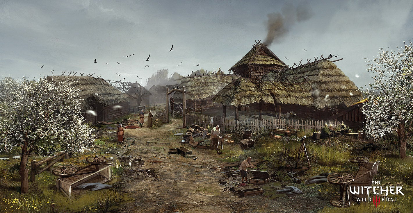 The Witcher 3 Art Is Very Bewit-I'm Sorry