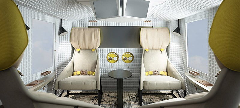 This Lovely Living Room Could End Up Inside a Helicopter