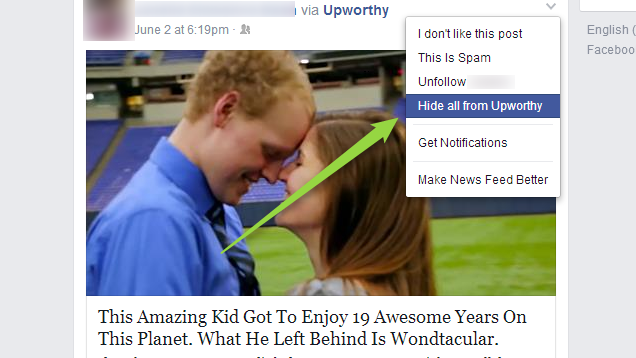How to Banish Annoying Sites From Your Facebook Feed Forever