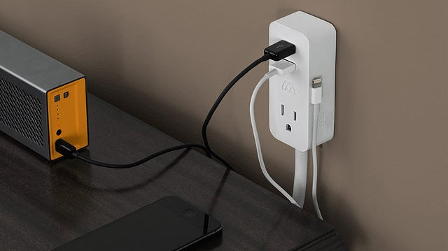 A Tiny Mountable Power Bar Fixes Your Outlet's Most Annoying Flaws