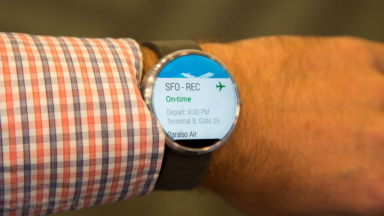 Moto 360 Hands-On: This Smartwatch Will Make You Swoon