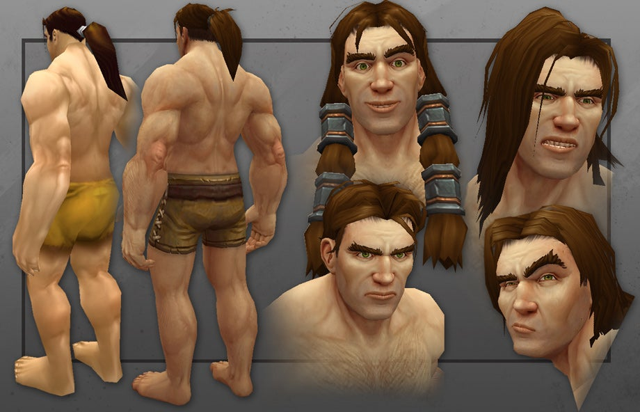World Of Warcraft's Humans Now Actually Look Like Humans