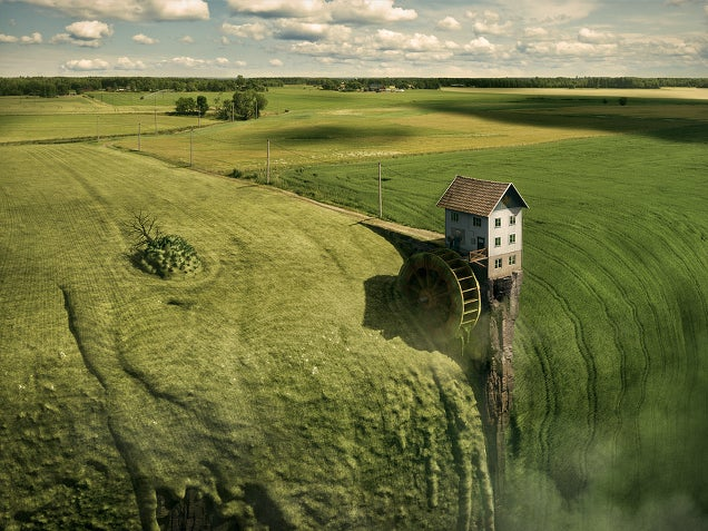 The beautiful surreal worlds of Erik Johansson