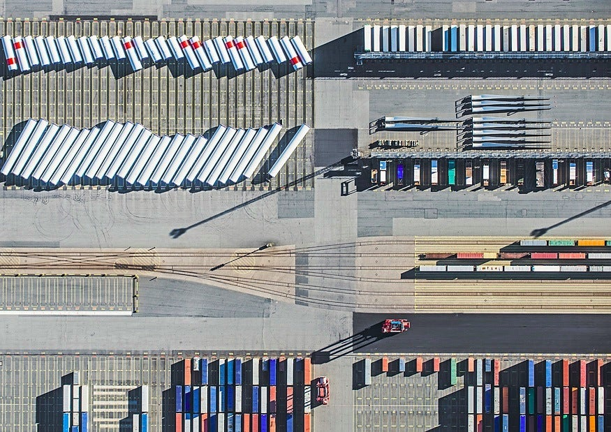 The aerial photography of Bernhard Lang
