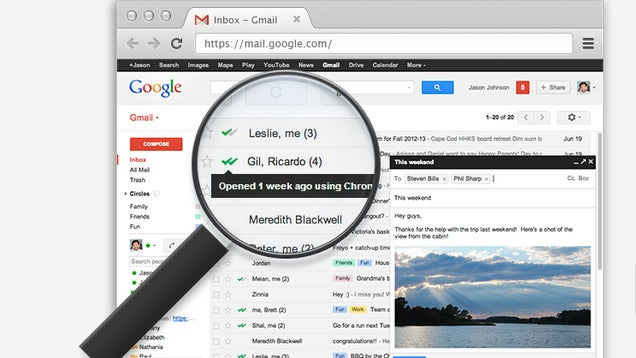 MailTrack Tells You When Someone Has Read Your Email Message