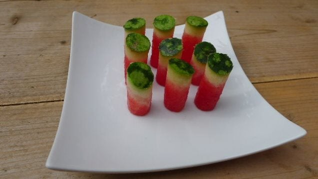 Use An Apple Corer to Turn Watermelon Into Easy Finger Food
