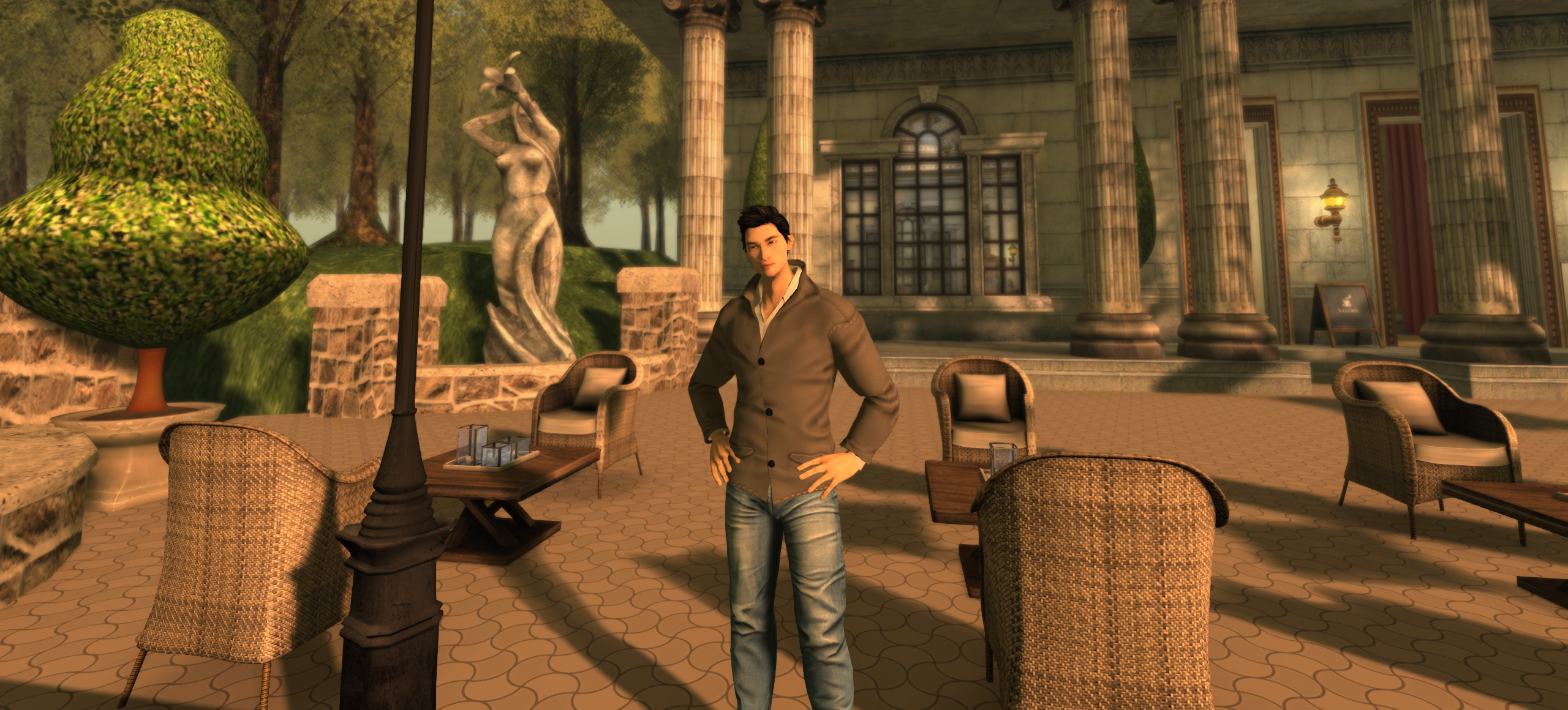 I Explored Second Life's Forgotten Worlds With An Oculus
