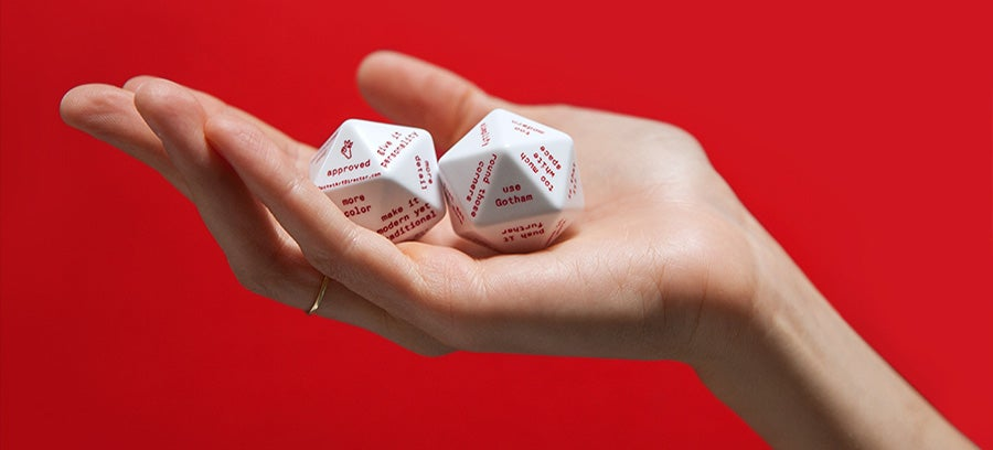 A 20-Sided Pocket Art Director Gives You Free Design Advice