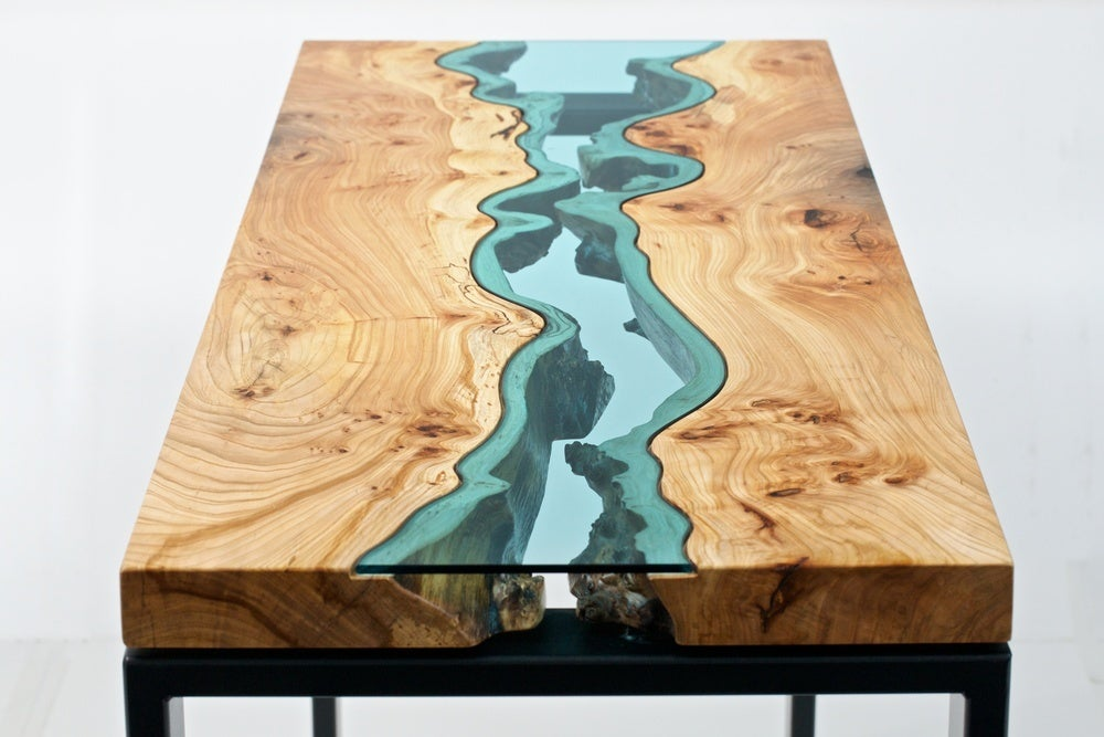 Gorgeous Topographic Tables Look Like the Earth From Above