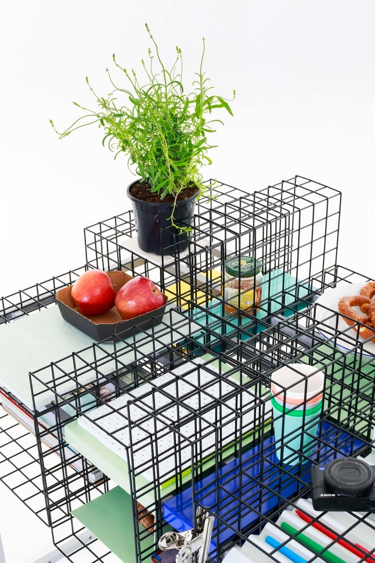 You Can Customise This Desk's Modular Cages In Countless Ways