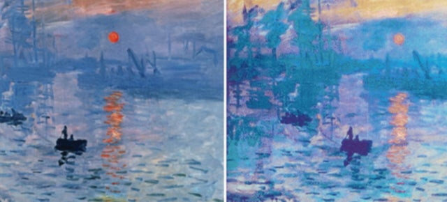Can You Tell the Monet From the Microscopic Imitation?