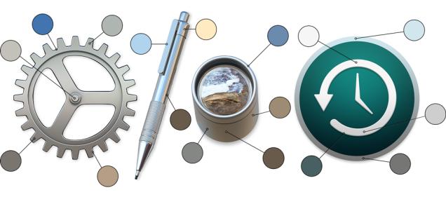 Inspecting Mac OS X Yosemite's Icons
