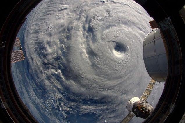Japan's Super Typhoon Neoguri Looks Terrifying From Space