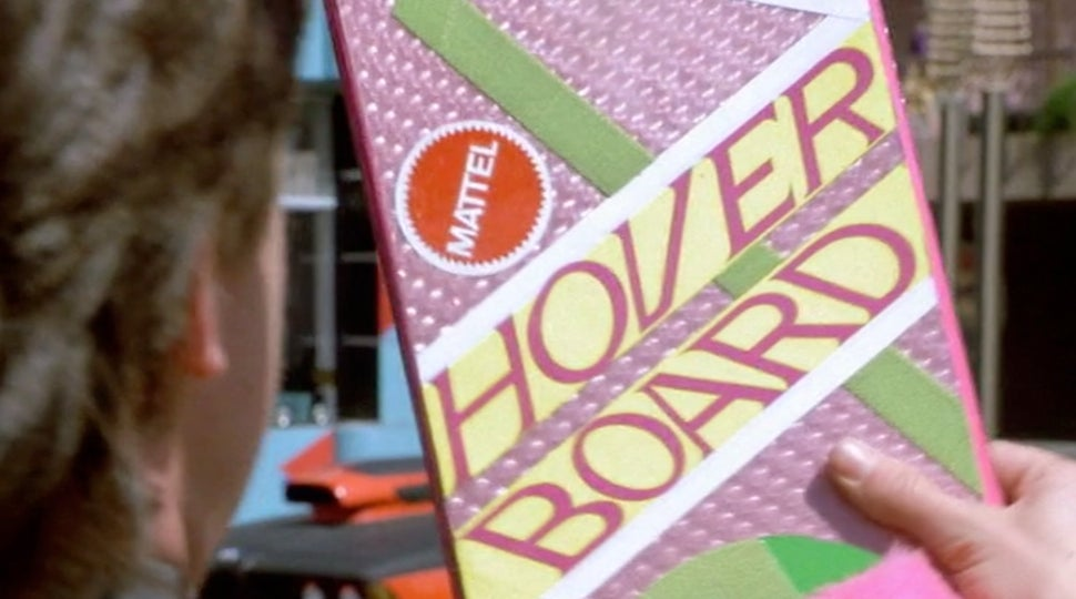 Original Back to the Future 2 Hoverboard Up For Auction