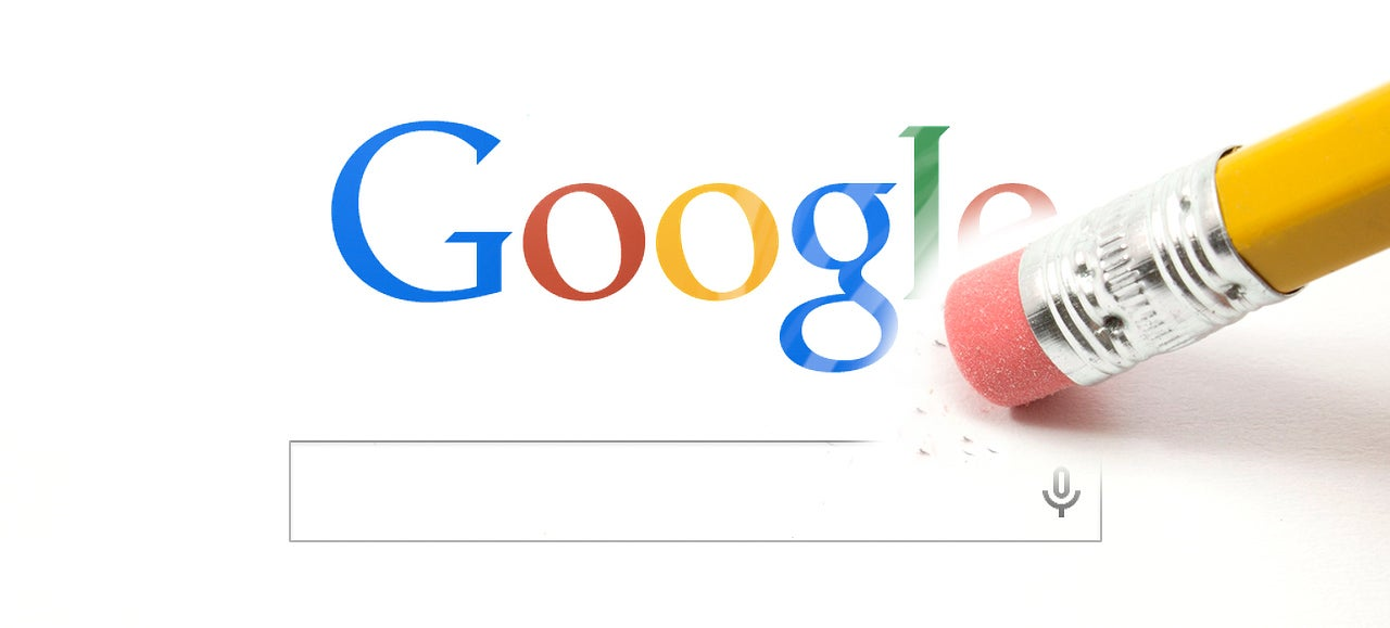 Your Right To Be Forgotten Beats Google's Right to Remember