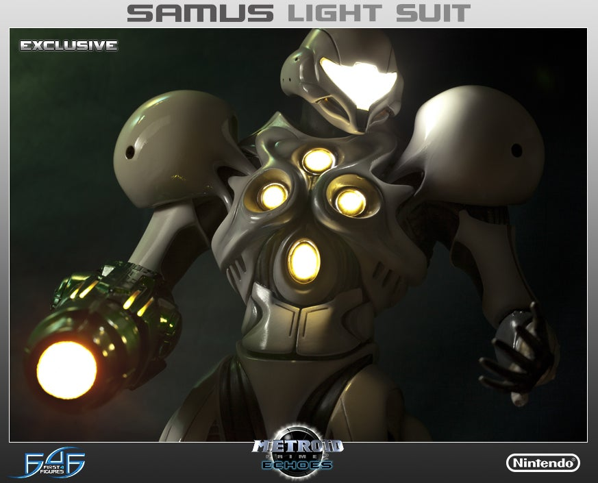Metroid's Brightest Samus Suit, Now A Glowing 20-Inch Masterpiece