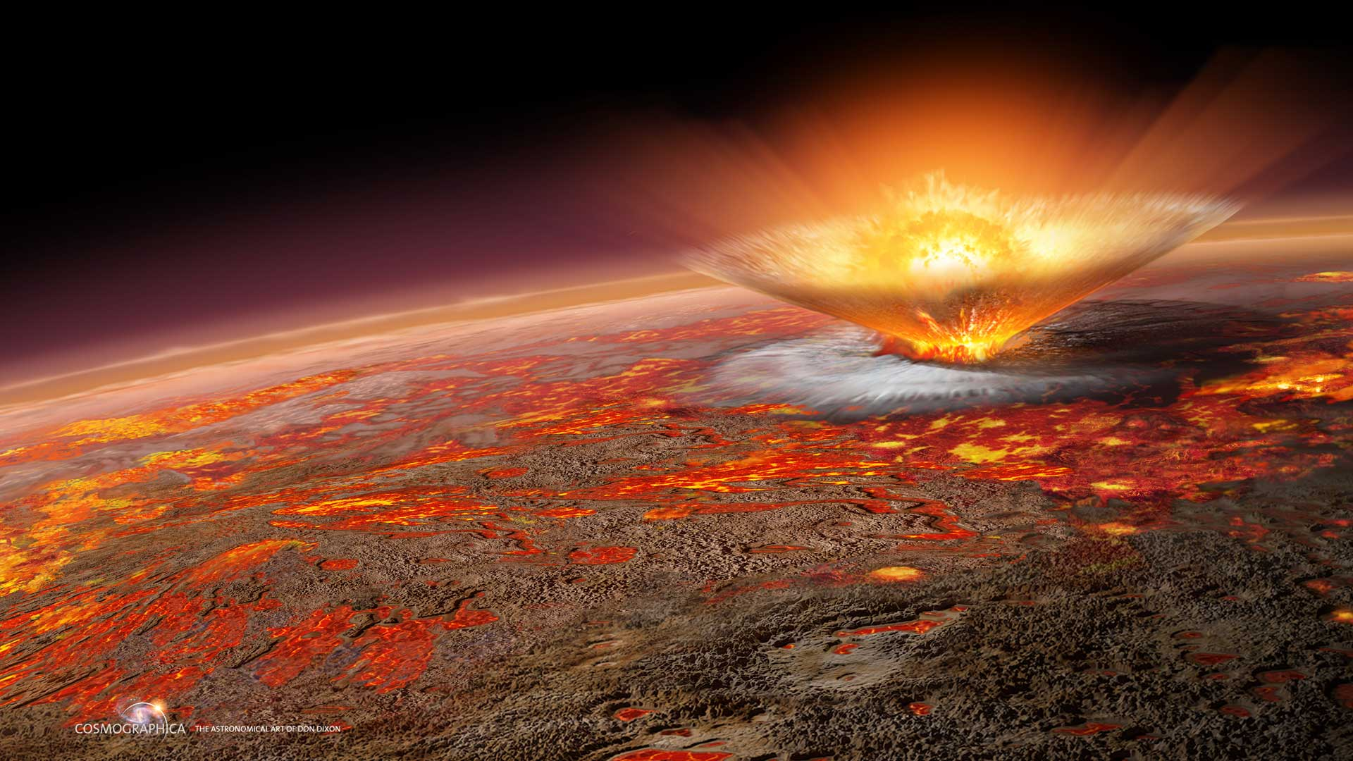 Scientists reveal new vision of Earth 4 billion years ago