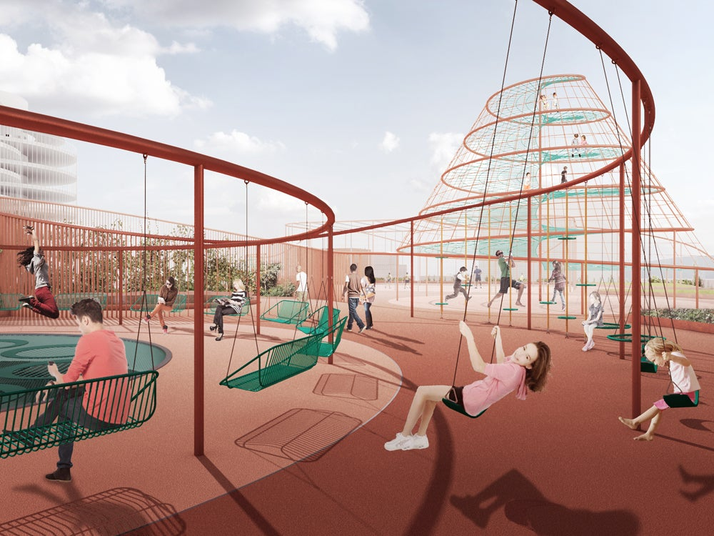 A Plan To Turn Your Local Parking Garage Into Your Local Playground