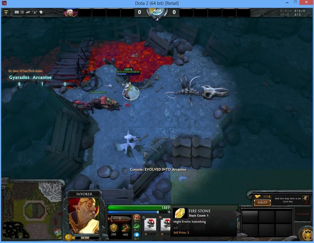 Woah, Someone Is Building Pokémon Inside of Dota 2