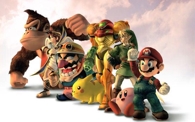 Enemies In Super Smash Bros. Sure Love Killing Themselves